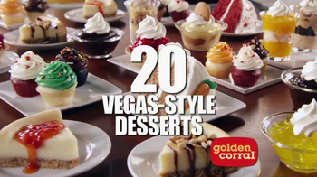Golden Corral TV Spot, 'Bigger & Better Dinner Buffet' - Thumbnail 6