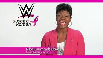 Susan G. Komen for the Cure TV Spot, 'WWE: Nikia Hammonds-Blakely' - Thumbnail 1