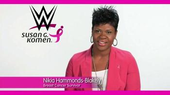 Susan G. Komen for the Cure TV Spot, 'WWE: Nikia Hammonds-Blakely' - Thumbnail 4