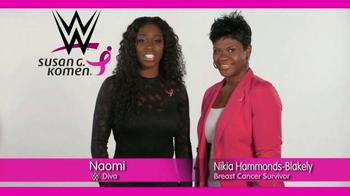 Susan G. Komen for the Cure TV Spot, 'WWE: Nikia Hammonds-Blakely' - Thumbnail 6