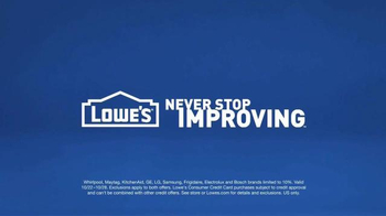 Lowe's TV Spot, 'How to Make it Quiet by Being Loud' - Thumbnail 9