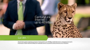 CenturyLink TV Spot, \'Cheetah\'
