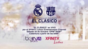 XFINITY Latino TV Spot, 'El Clásico: Madrid vs. Barcelona' - Thumbnail 10