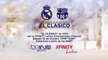 XFINITY Latino TV Spot, 'El Clásico: Madrid vs. Barcelona' - Thumbnail 9