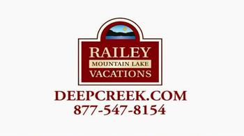 Railey Mountain Lake Vacations TV Spot - Thumbnail 10