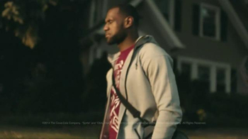 Sprite TV Spot, 'LeBron's First Home Game' Featuring LeBron James - Thumbnail 7