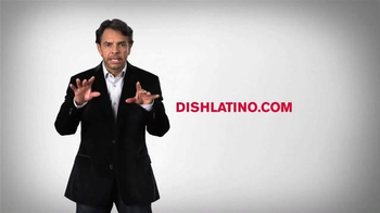 DishLATINO TV Spot, 'Más de 190 Canales' Con Eugenio Derbez [Spanish] - 445 commercial airings