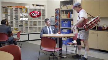 Dr Pepper TV Spot, 'Larry in the ESPN Break Room' Ft. Jesse Palmer - Thumbnail 9
