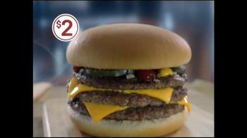 McDonald's Triple Cheeseburger TV Spot, 'Lunch Run' - Thumbnail 7