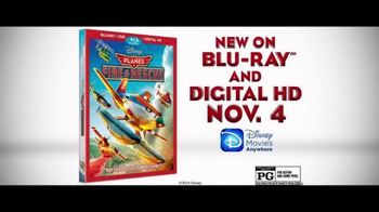 Planes: Fire & Rescue Blu-ray and Digital HD TV Spot