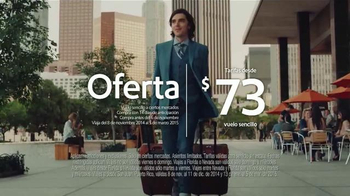 Southwest Airlines TV Spot, 'Woman's Man' [Spanish] - 36 commercial airings