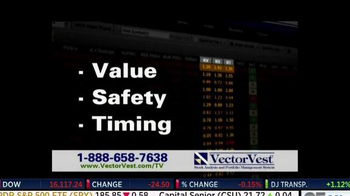 VectorVest TV Spot, 'Know When to Buy, When to Save' - Thumbnail 5