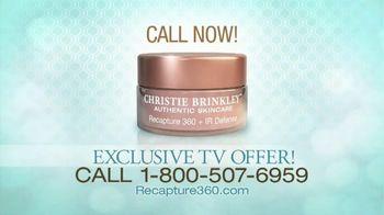 Recapture 360 TV Spot, 'Special Announcement' Featuring Christie Brinkley - Thumbnail 6
