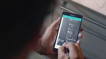 Samsung Galaxy Note 4 TV Spot, 'Do You Note?' - Thumbnail 6