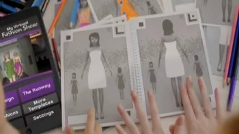 Crayola Virtual Design Pro Fashion Collection TV Spot - Thumbnail 6