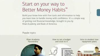 Bank of America & Khan Academy TV Spot, 'Better Money Habits' - Thumbnail 9