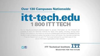 ITT Technical Institute Opportunity Scholarships TV Spot, 'High Tuition' - Thumbnail 9