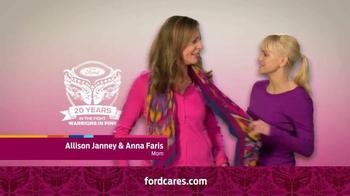 Ford Warriors in Pink TV Spot Featuring Allison Janney & Anna Faris - Thumbnail 2