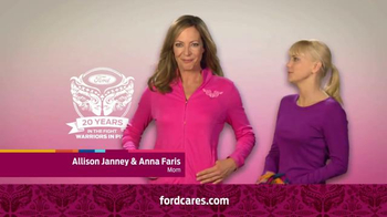 Ford Warriors in Pink TV Spot Featuring Allison Janney & Anna Faris - Thumbnail 4