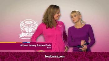 Ford Warriors in Pink TV Spot Featuring Allison Janney & Anna Faris - Thumbnail 5