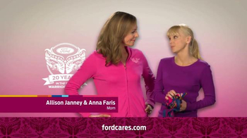 Ford Warriors in Pink TV Spot Featuring Allison Janney & Anna Faris