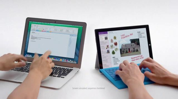 Microsoft Surface Pro 3 TV Spot, 'Crowded' - Thumbnail 1