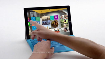 Microsoft Surface Pro 3 TV Spot, 'Crowded' - Thumbnail 4