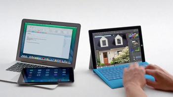 Microsoft Surface Pro 3 TV Spot, 'Crowded' - Thumbnail 6