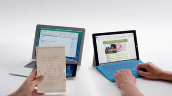 Microsoft Surface Pro 3 TV Spot, 'Crowded' - Thumbnail 7