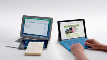 Microsoft Surface Pro 3 TV Spot, 'Crowded' - Thumbnail 8