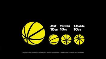 Sprint Family Share Pack TV Spot, 'More Data for More NBA' - Thumbnail 4