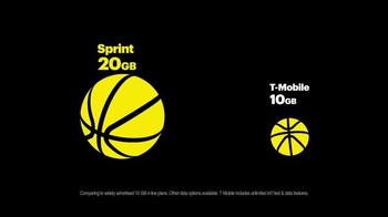 Sprint Family Share Pack TV Spot, 'More Data for More NBA' - Thumbnail 5