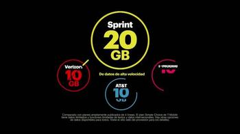Sprint Family Share Pack TV Spot, 'Leaving Verizon' [Spanish] - Thumbnail 6