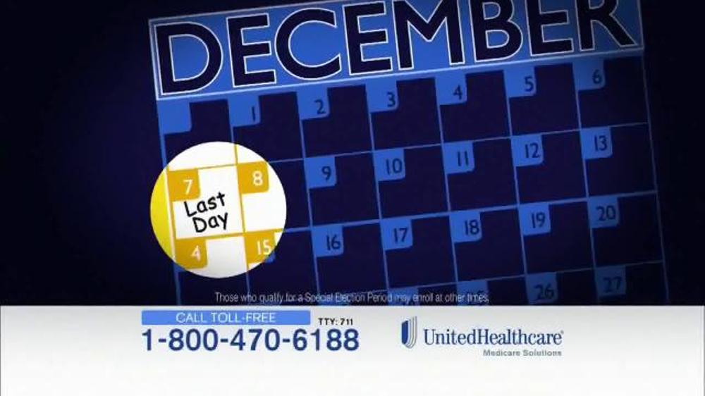 UnitedHealthcare TV Commercial, 'Open Enrollment Ends Soon'