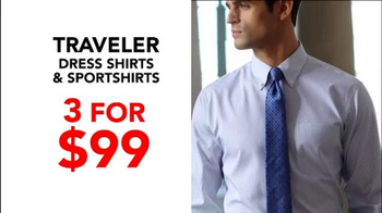 JoS. A. Bank TV Spot, 'October: BOG3 Suits Plus Three Traveler Shirts' - Thumbnail 6