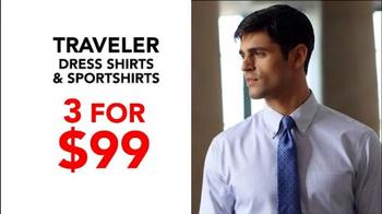 JoS. A. Bank TV Spot, 'October: BOG3 Suits Plus Three Traveler Shirts' - Thumbnail 7