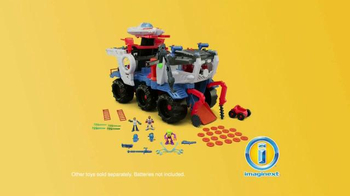 Imaginext Space Supernova Battle Rover TV Spot, 'Alien Invasion' - Thumbnail 9