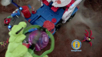 Imaginext Space Supernova Battle Rover TV Spot, 'Alien Invasion' - Thumbnail 5