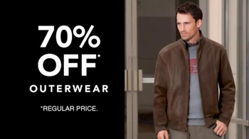 JoS. A. Bank TV Spot, 'October: 70% Off Outerwear' - Thumbnail 8