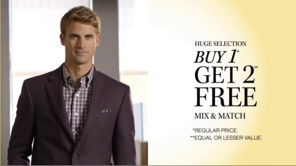 JoS. A. Bank TV Commercial, 'October: BOG2 Suits Plus Three Traveler Shirts'