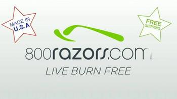 800Razors.com TV Spot, 'Razors Delivered Free for Less' - Thumbnail 10