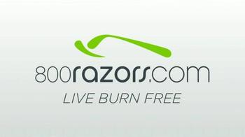 800Razors.com TV Spot, 'Razors Delivered Free for Less' - Thumbnail 3