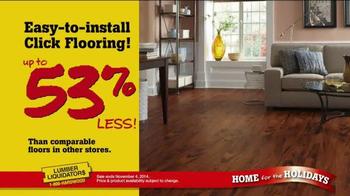 Lumber Liquidators Home for the Holidays TV Spot, 'Great Deals' - Thumbnail 3