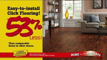 Lumber Liquidators Home for the Holidays TV Spot, 'Great Deals' - Thumbnail 4