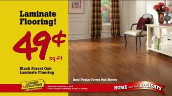 Lumber Liquidators Home for the Holidays TV Spot, 'Great Deals' - Thumbnail 5