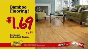 Lumber Liquidators Home for the Holidays TV Spot, 'Great Deals' - Thumbnail 7