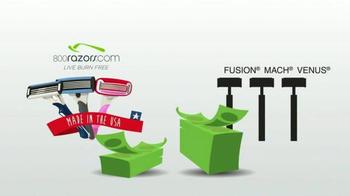 800Razors.com TV Spot, 'Premium Shaving Razors for Men & Women' - Thumbnail 6