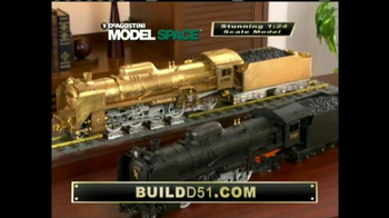 Model Space D51 Locomotive TV Spot, 'Start Making Your Model' - Thumbnail 9