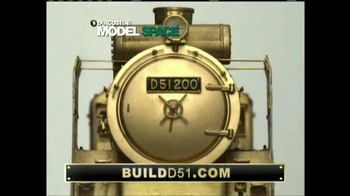 Model Space D51 Locomotive TV Spot, 'Start Making Your Model' - Thumbnail 1