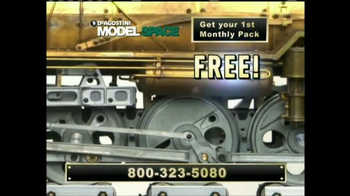 Model Space D51 Locomotive TV Spot, 'Start Making Your Model' - Thumbnail 2